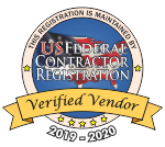 US Federal Contractor Registration - Verified Vendor